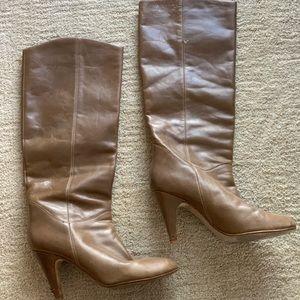 Aldo tan leather boots